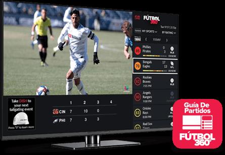 Guía de partidos - Fútbol 360 - Athens, GA - Mc Wireless - Distribuidor autorizado de DISH