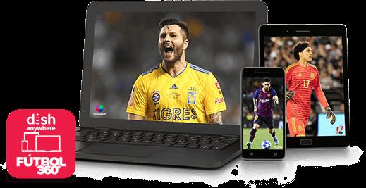 DISH Anywhere - Fútbol 360 - Athens, GA - Mc Wireless - Distribuidor autorizado de DISH