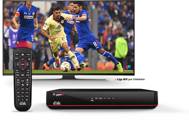 DISH Hopper DVR - Control remoto de voz - Athens, GA - Mc Wireless - Distribuidor autorizado de DISH